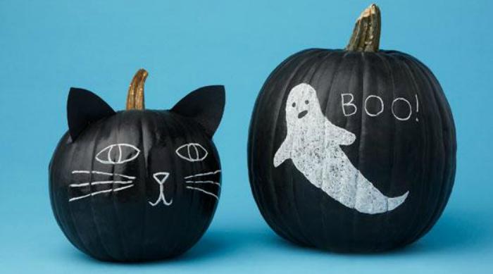 cat ghost pumpkin featured