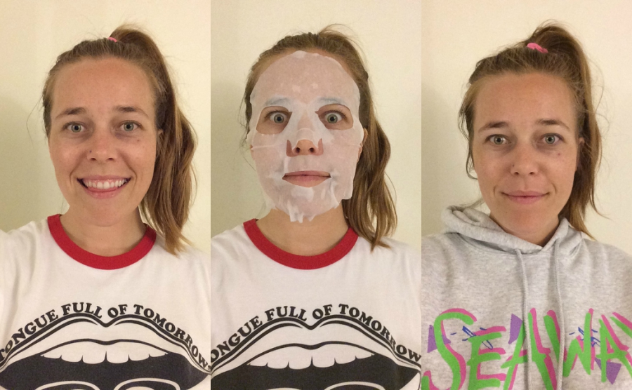 Celavi charcoal mask