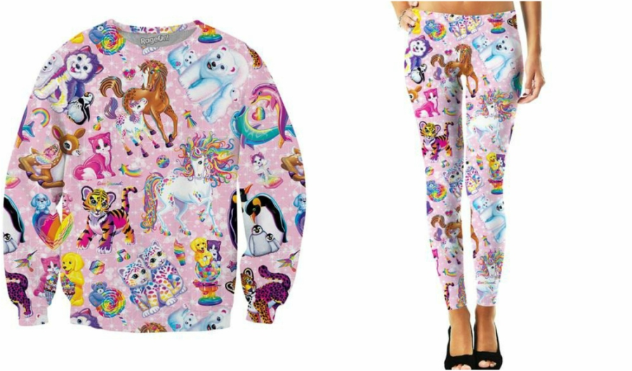 Lisa Frank Character Collage outfit