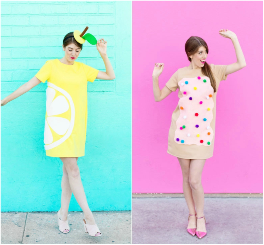 (via Studio DIY)  sc 1 st  Sweety High & Adorable and Sweet Last-Minute DIY Halloween Costumes