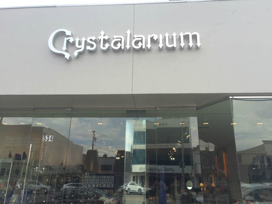 Crystalarium crystal shop in West Hollywood, California