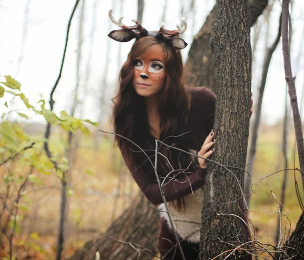 DIY deer costume  sc 1 st  Sweety High & The Perfect DIY Halloween Costume for Your Zodiac Sign