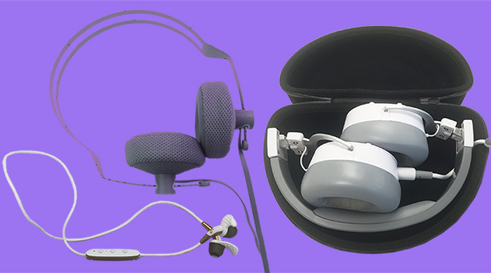 Headphones image with Freedom Jaybird earbuds, Beyerdynamic Custom Street headphones and Coloud headphones