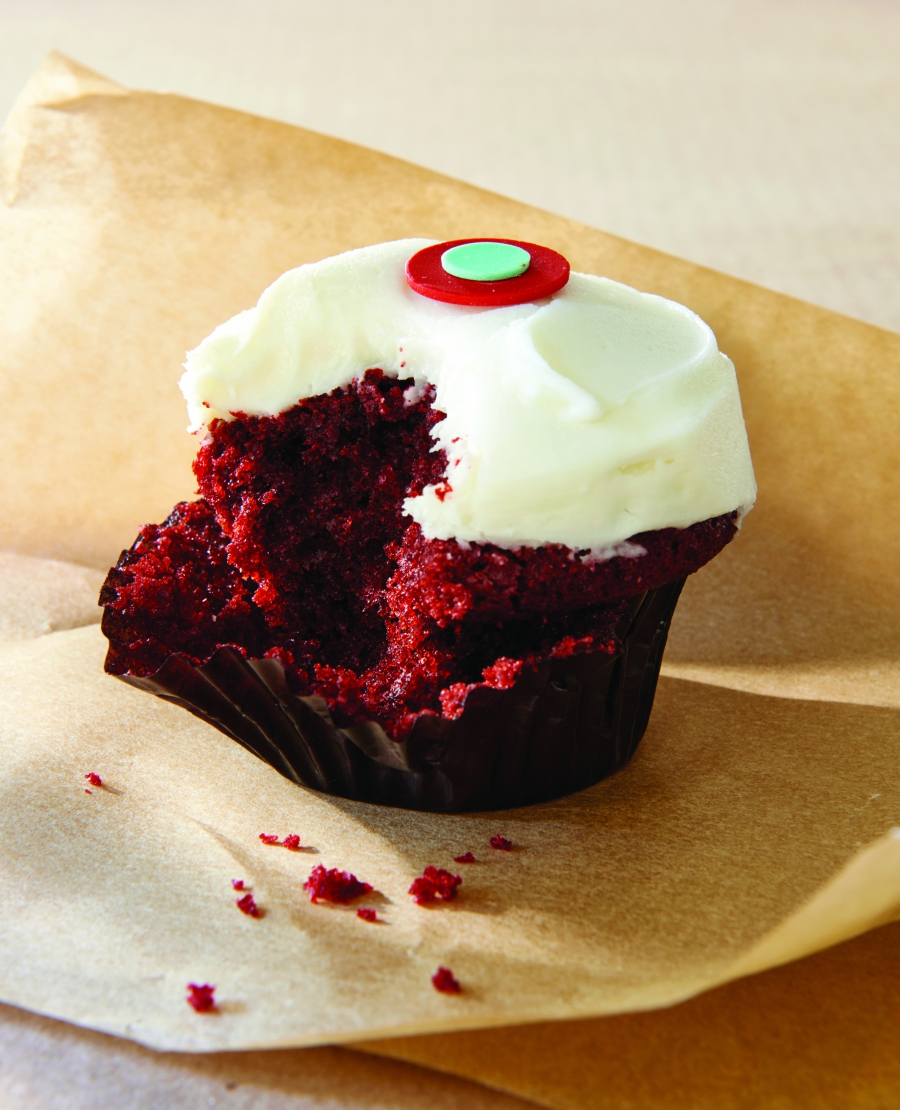 what\'s in red velvet cupcakes