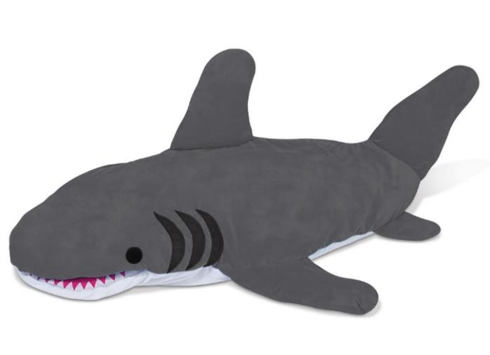 great white shark sleeping bag