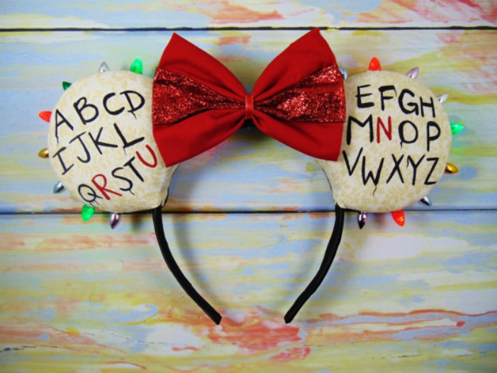 Stranger Things Minnie Mouse ears