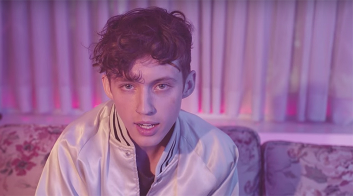 """Troye Sivan in his music video for """"Youth"""""""