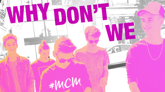 Why Don't We MCM art