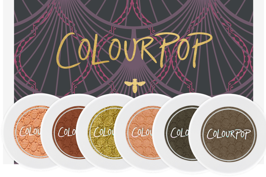Colourpop eye shadow set