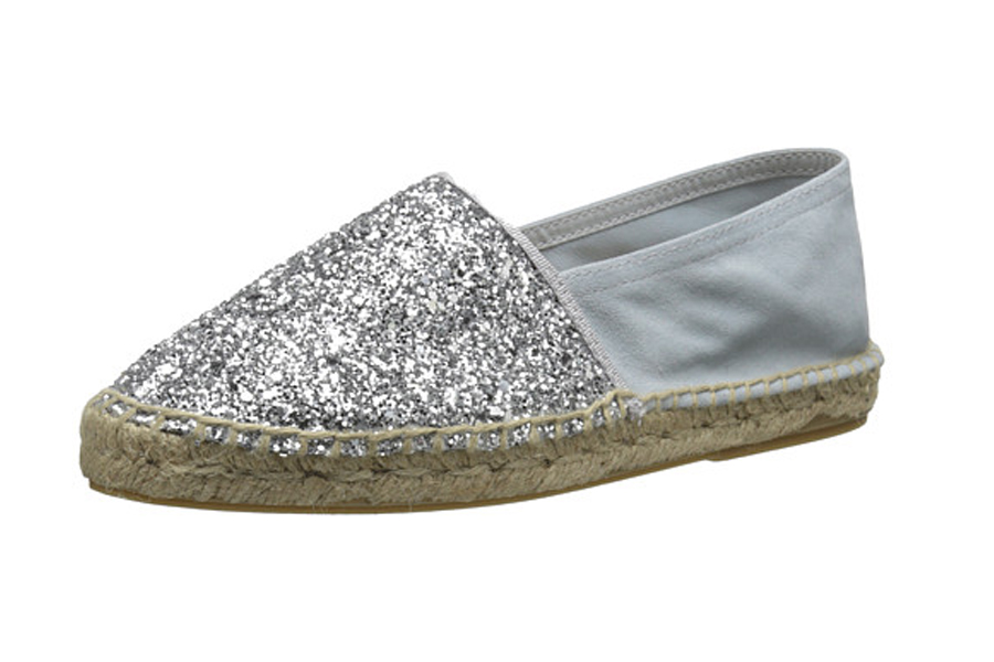 Dune London glitter espadrille