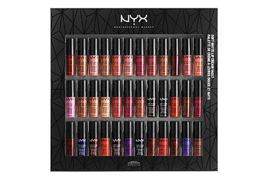 NYX deluxe soft cream lip set