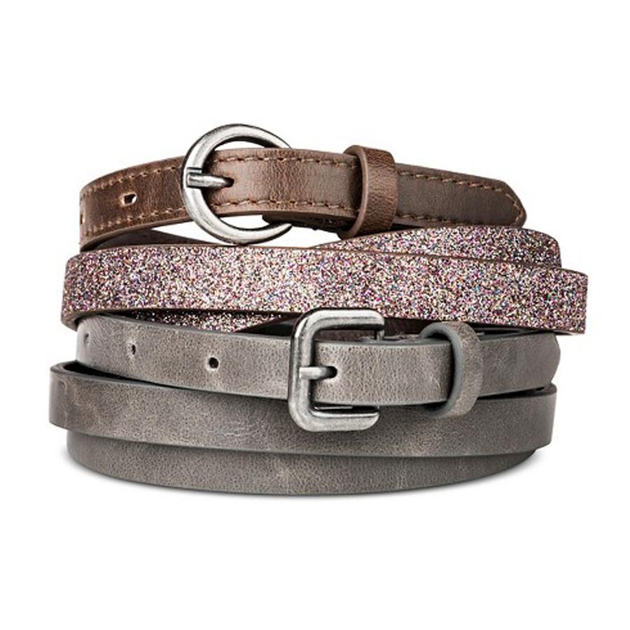 Target glitter belt set