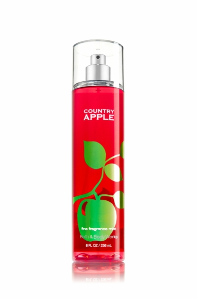 Country Apple spray from Bath & Body Works