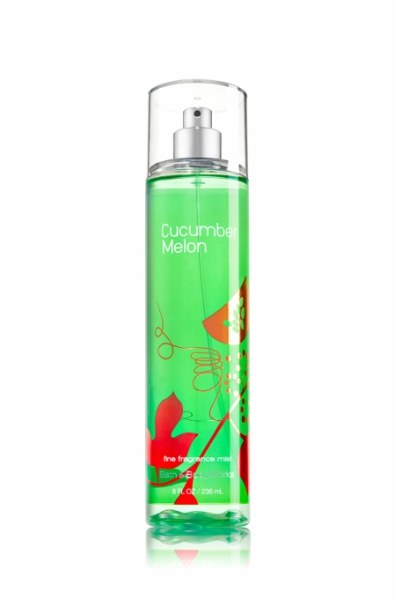 Cucumber Melon spray from Bath & Body Works