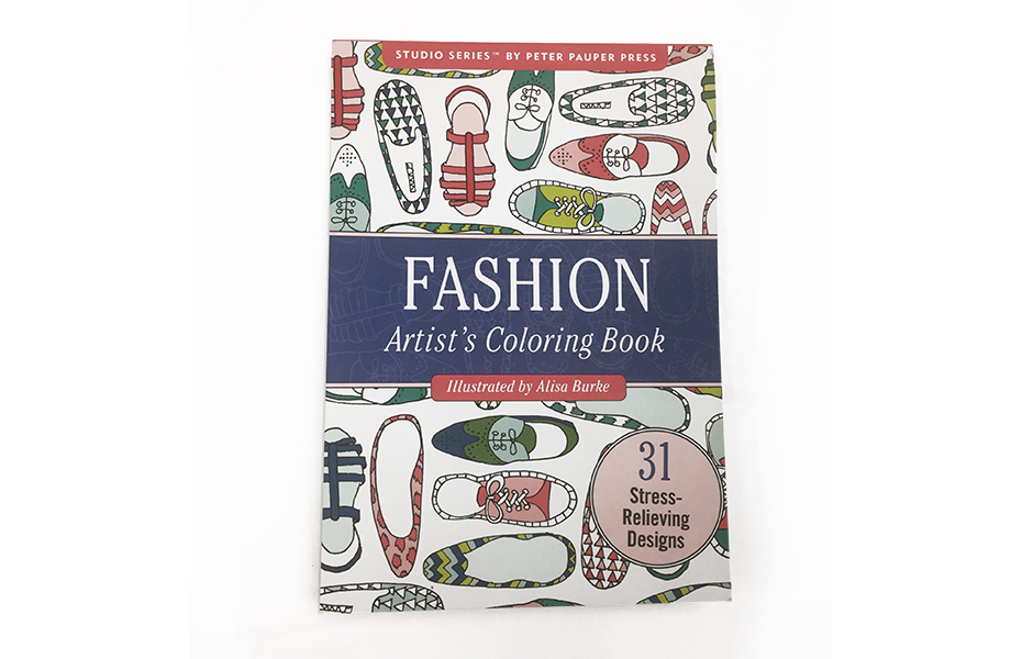 Fashion Artist's coloring book