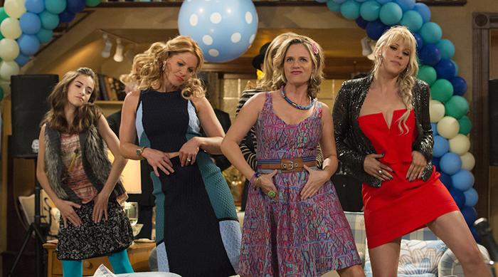 'Fuller House' girls dancing