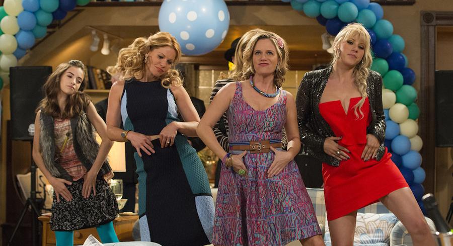 fuller house girls dancing