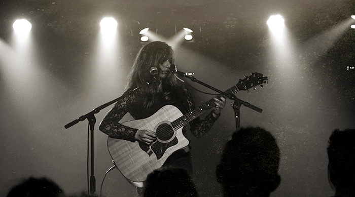 Hailey Knox performing live on stage