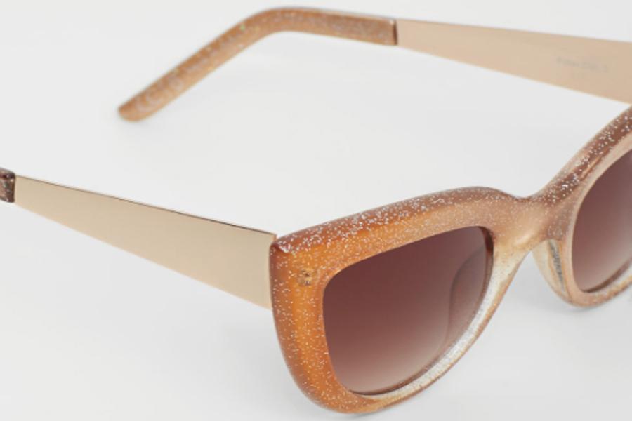 Mango glitter sunglasses