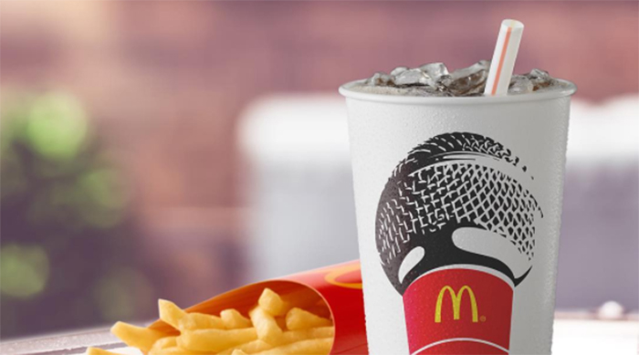 McDonald's fries and soda