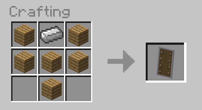 How To Place A Crafting Table In Minecraft