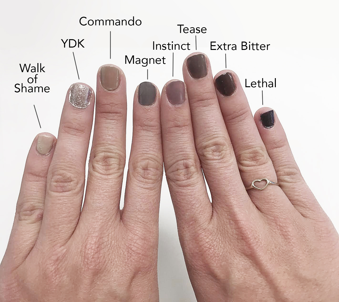 We Tried Urban Decay\'s New Naked Nail Color Collection