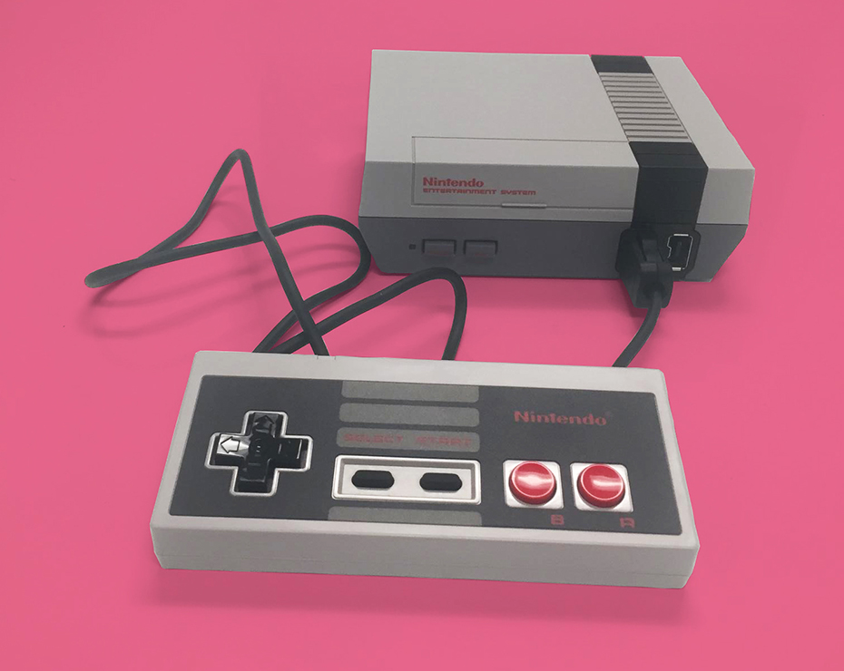 NES Classic Edition and controller