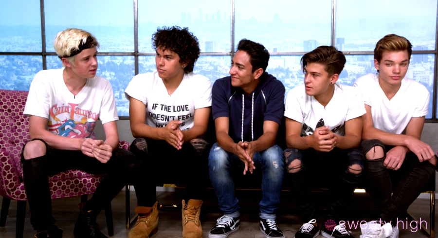 Boy Band New District Reveals the Meaning Behind Their Name