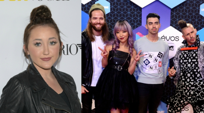 Noah Cyrus and DNCE