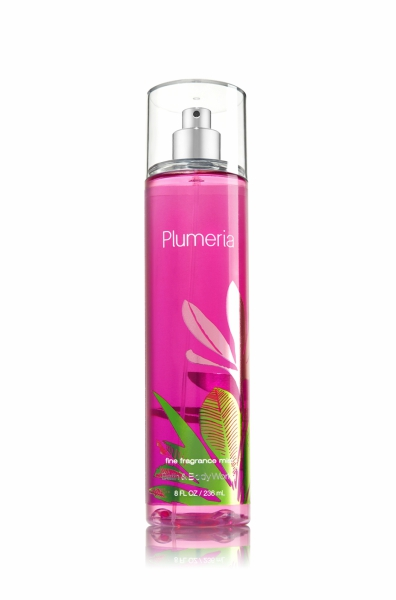 Plumeria spray from Bath & Body Works