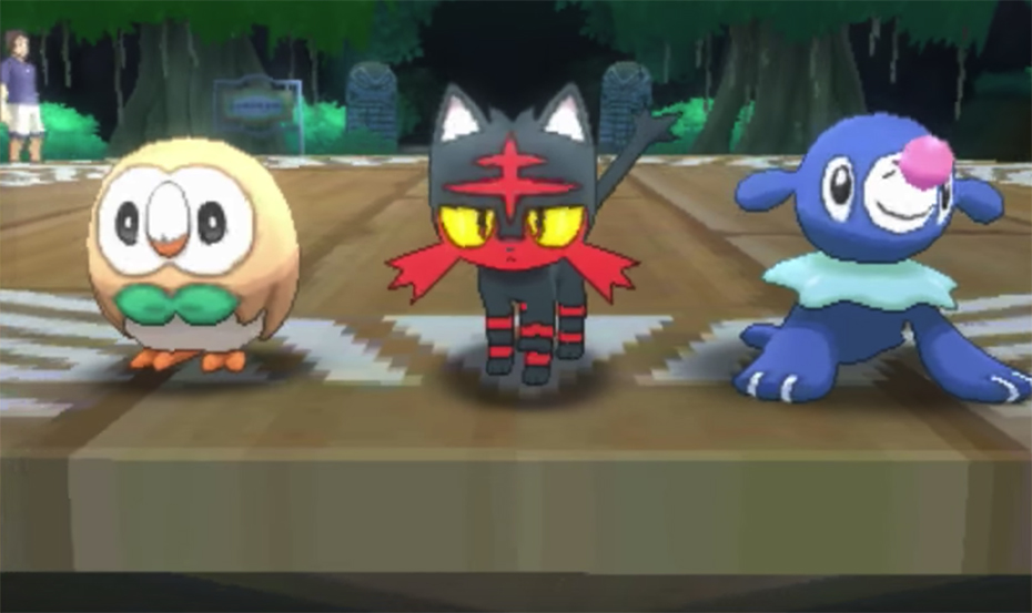 pokémon sun and moon personality types depending on starter