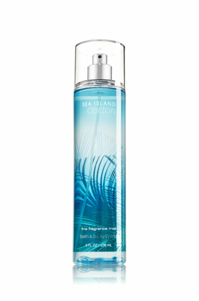 Sea Island Cotton spray from Bath & Body Works