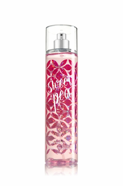 Sweet Pea spray from Bath & Body Works