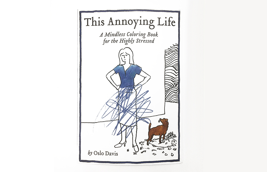 This Annoying Life Coloring Book Cover