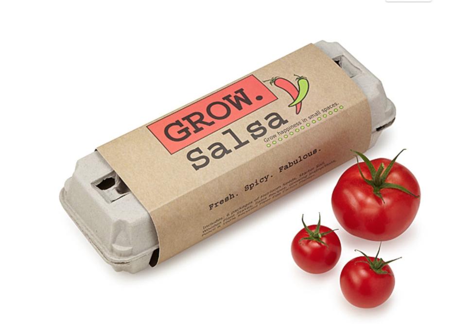 Grow your own salsa kit