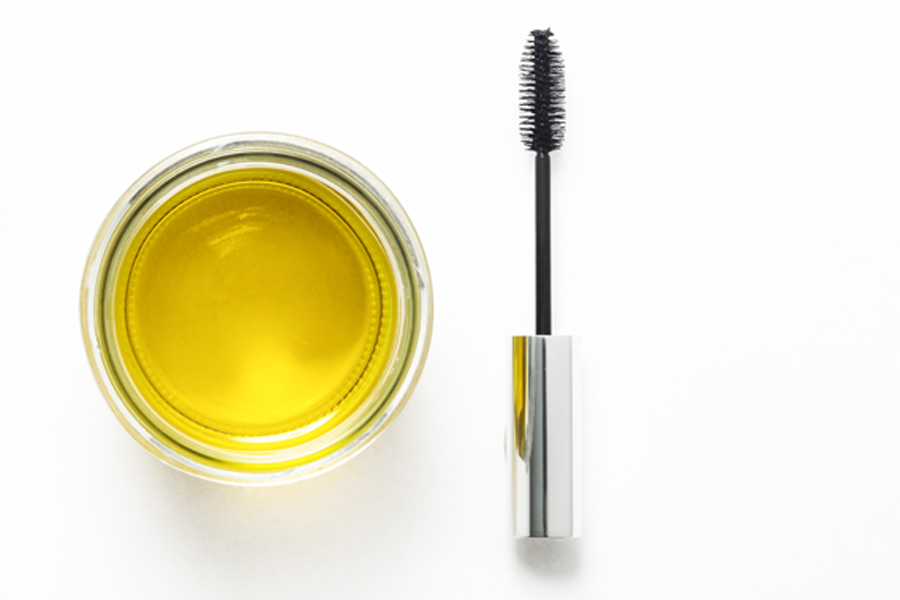 Olive oil for lashes
