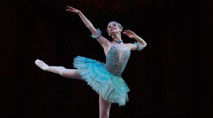 Ballet dancer Abigail Merlis from Boston Ballet