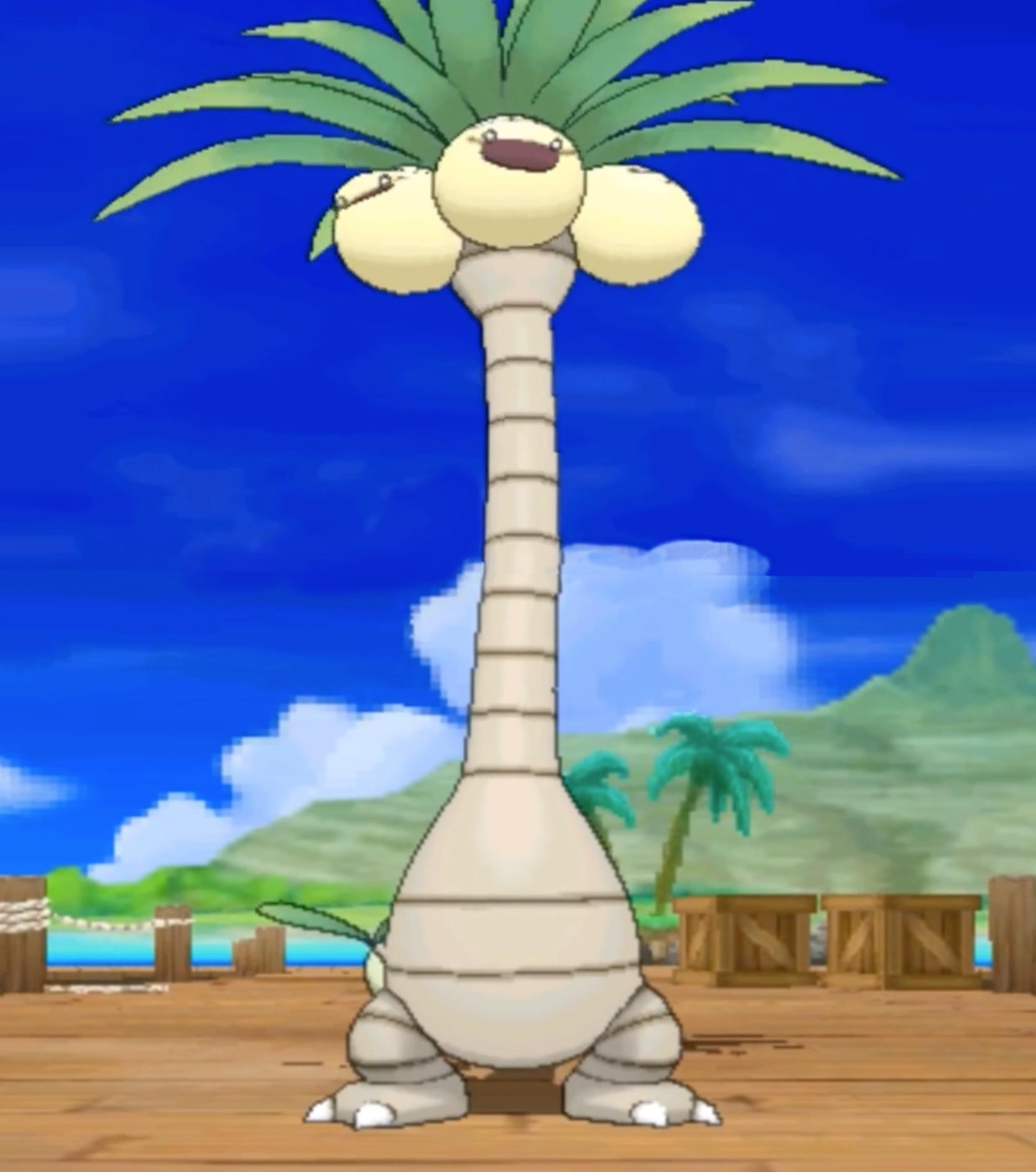 Alola Exeggutor Pokémon Sun/Moon