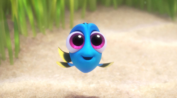 "Image of baby Dory from ""Finding Dory"""