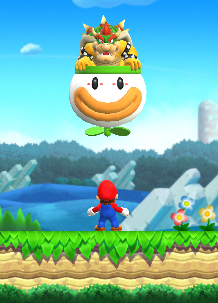 Super Mario Run: Mario and Bowser