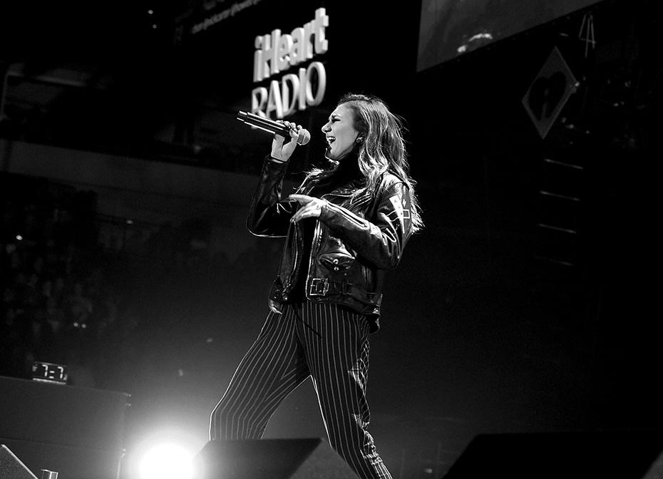 Singer Daya performs at KISS FM's Jingle Ball 2016