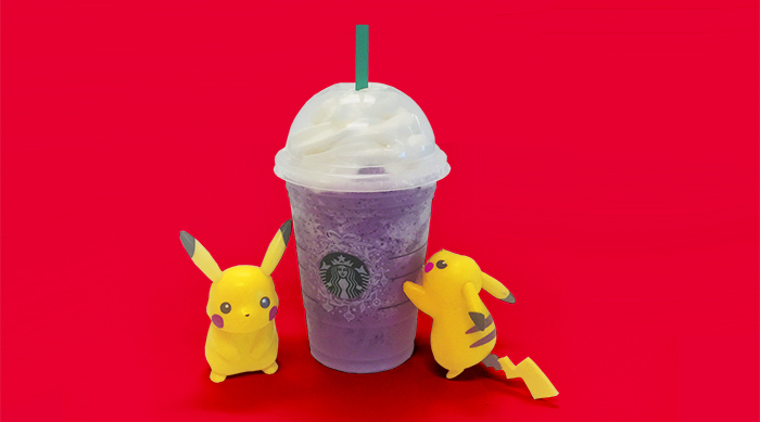 Starbucks has a Pokémon Go-themed frappuccino