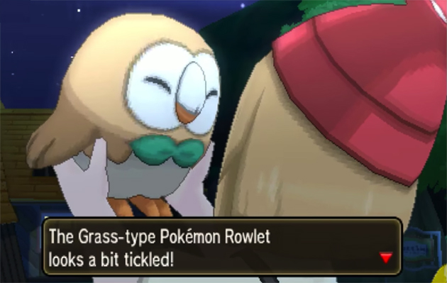 Pokémon Sun and Moon: Picking Rowlet