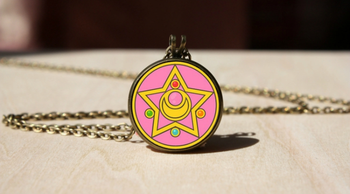 Sailor Moon locket necklace