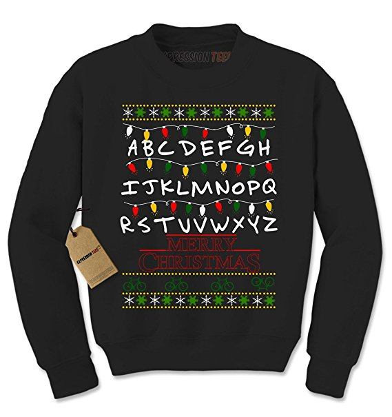 Stranger things holiday sweater