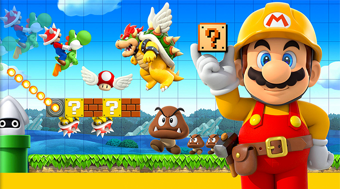 Super Mario Maker 3DS cover