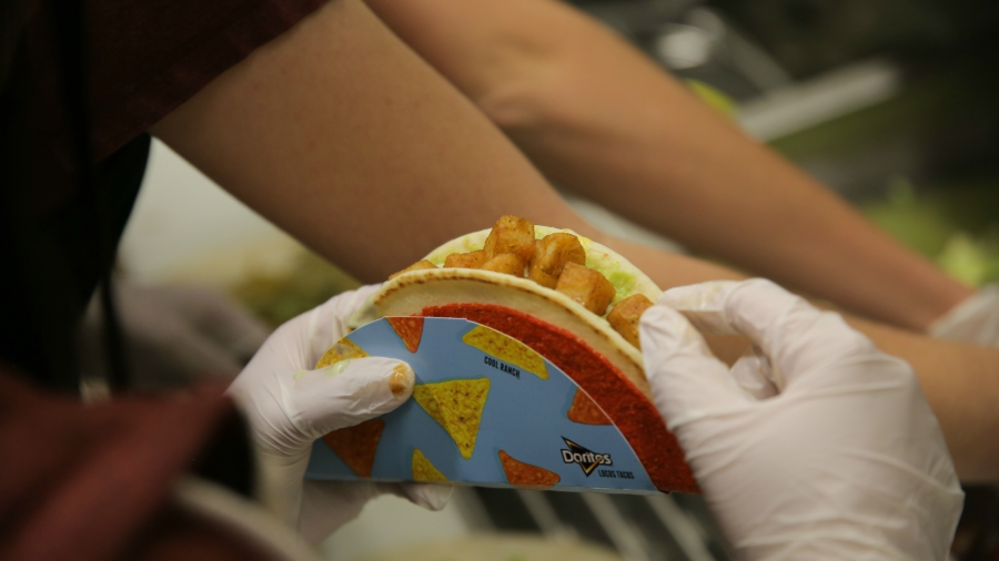 Amanda's Taco Bell creation