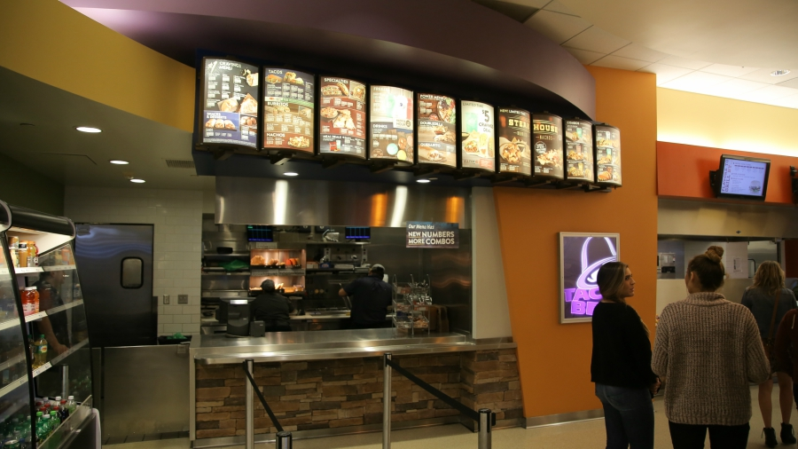 Taco Bell food court