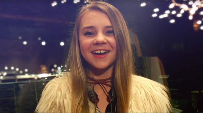 Tegan Marie singing holiday covers