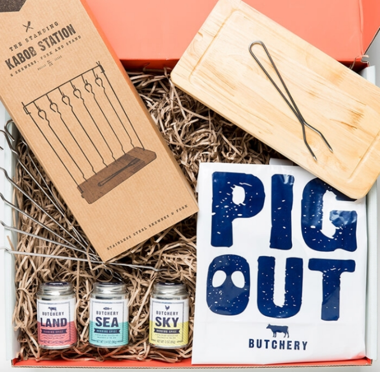 Thoughtfully's BBQ-lovers gift set